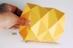 Comment faire un cache pot en papier   Madame Citron - Blog de créations et DIY