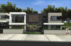 Arkivis Design Studio- Dual Occupancy. Matraville NSW. Facade.