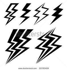 Lightning Logo Stock Photos, Images, & Pictures   Shutterstock