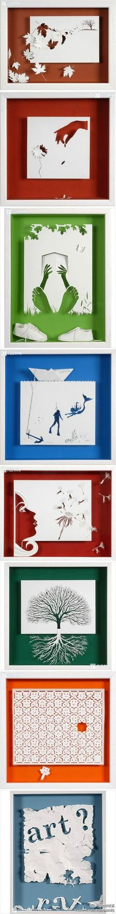 国外艺术家的剪纸作品 - 堆糖 发现生活_收集美好_分享图片