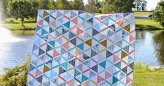 I have a finished quilt to share today! I've posted some pictures on Instagram, but I'm not sure if I've documented this quilt on the blog? ...