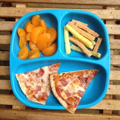A great alternative to take out pizza is whole wheat tortilla pizza. Add some mandarin oranges and veggie sticks and you have one healthy lunch by Healthy Toddler Meals, Toddler Lunches, Healthy Snacks For Kids, Kids Meals, Toddler Food, Kid Lunches, Healthy Meals, Good Healthy Recipes, Baby Food Recipes