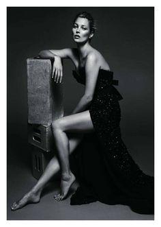 Kate Moss...jealous of the dress
