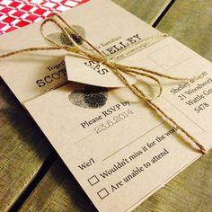 Custom Printable Wedding Invitation Set by CreatifDesigns4You