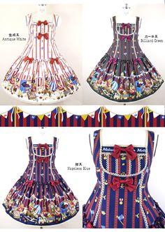 おもちゃの兵隊さん Aラインジャンパースカート | metamorphose temps de fille - gothic & lolita fashion in Japan