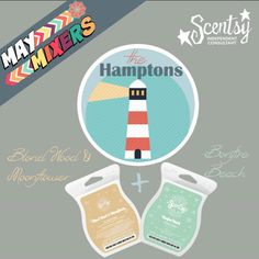 Who wouldn't want to be transported to #TheHamptons??  Find these scentsational fragrances at www.justawickaway.com #justawickaway #maymixers