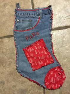 Denim/blue jean stockings