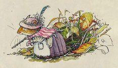 Jill Barklem e il suo bellissimo mondo in miniatura - by Delia - Furighedda gardening