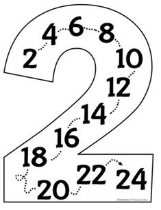 Multiples Posters for Multiplication Facts 1 - 12 by Ms Batkins Fabulous Class Learning English For Kids, Learning Games For Kids, Math For Kids, Kindergarten Math Worksheets, Kindergarten Lessons, Math Math, Math Fractions, Math Games, Classroom Charts