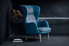 Ro Armchair // Named for the Danish word for tranquility