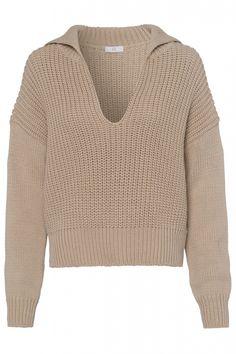 Riani Damen Strickpullover Beige   SAILERstyle Blazer, Men Sweater, Tops, Sweaters, Fashion, Fashion Women, Figurine, Clothing, Breien