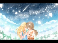 Claire and Cliff - Harvest Moon - More Friends of Mineral Town: The Flower of Happiness by ~lazy-moon-angel on deviantART