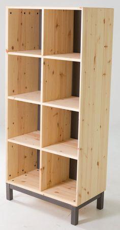 Ikea Nornäs Bookshelves Ikeapine Shelvesikea