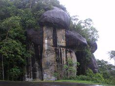 La Piedra de la Virgen, Gran Sabana, Venezuela
