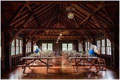 campground lodge wedding reception