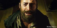 Hugh Jackman as Jean Valjean. Painted digitally. By Shana Lai. From Hong Kong. http://www.facebook.com/ShanaGourmet #theatre #lesmis #musicals www.lesmis.com  WOW