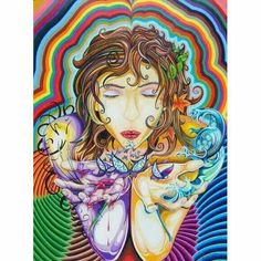 Blowing peace your way.