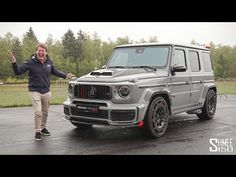 New BRABUS G 900 ROCKET EDITION! This Beast Does 0-60mph in 3.3 Seconds - YouTube Benz G, G Wagon, Carbon Fiber, Mercedes Benz, Beast, Youtube, Youtubers, Youtube Movies