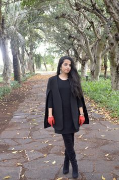 Gloomy Sunday | As I Dress  Moroccan fashion blogger   All black