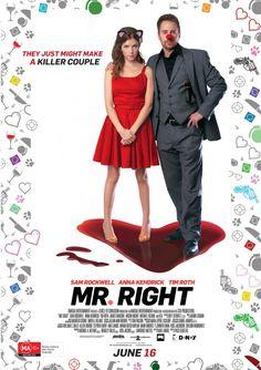 Mr. Right. Un bodrio, pero divertida. Si te gustan las comedias románticas bien livianas, es tu película. Vuelo HK-LA