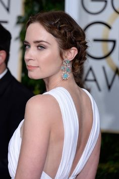 Emily Blunt at event of The 72nd Annual Golden Globe® Awards (2015)