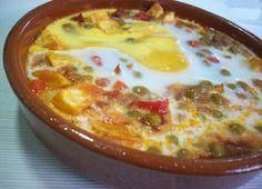 Recetas - HUEVOS A LA FLAMENCA - La primera red social de comida mexicana