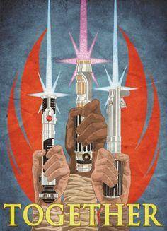 Star Wars Propaganda Poster For the Rebel Alliance Theme Star Wars, Star Wars Party, Saga, Happy Star Wars Day, Poster Retro, Star Wars Design, Gaspard, Star War 3, Star Wars Poster