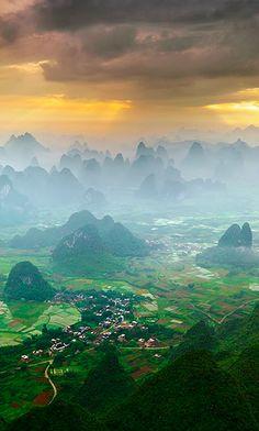 Yangshuo, China • photo: Karl Willson on Global Bhasin