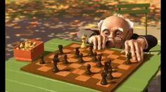 Court métrage d'animation 3D Pixar (Geri's Game)