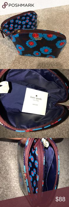 Kate Spade Nesting Make-Up Bags Set NWT Kate Spade Nesting Make-Up Bags Set NWT. Peacockblu kate spade Bags Cosmetic Bags & Cases