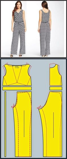 Coat Patterns, Dress Sewing Patterns, Blouse Patterns, Clothing Patterns, Sewing Pants, Sewing Clothes, Diy Clothes, Fashion Sewing, Diy Fashion