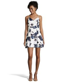 Romeo & Juliet Couture Floral Print Woven Dress With Open Back  #dress #summer #chic #mystyle #lbd