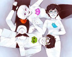 Alpha kids by xamag-homestuck on tumblr