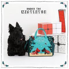 Under the Mistletoe - 35th Radley Signature Bag 2015. #MyRadleyChristmas