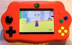 """Ever wanted to make your Nintendo 64 (N64) gaming console into a handheld portable unit for """"on the go"""" playing?This system runs off Li-ion batteries which..."""
