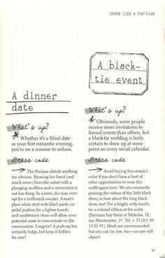 Parisian Chic: A Style Guide by Inès de la Fressange | A Dinner Date + A Black-Tie Event