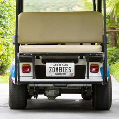 Zombies | Peachtree City, Ga. They even have their own golf cart!