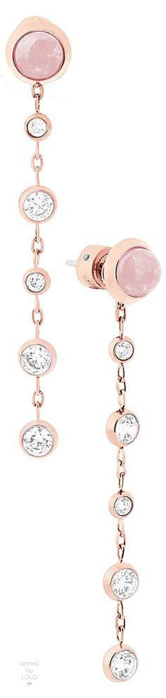 Michael Kors Quartz Drop Earrings