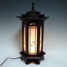 Traditional Korean Lamp (J)