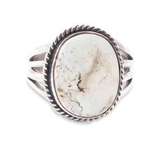 Navajo Silver Dry Creek Turquoise Ring Size 9,Men's Women's Dry Creek Ring,Dry Creek Turquoise Mine,Native American Navajo Jewelry,USA Made