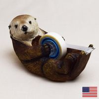 otter at your service Miscellaneous Goods, Desk Accessories, Cool Items, Animal Design, Funny Design, Wood Carving, Wood Art, Industrial Design, Inventions