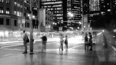 Sydney Street Intersection BW