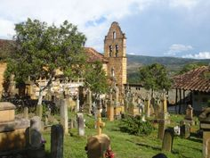 Barichara Cemetery, Colombia. Find us on Facebook: https://www.facebook.com/Going2Colombia