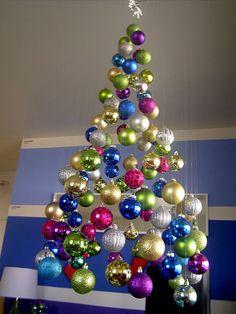Treeless Christmas Tree