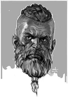 Borislav Mitkov. Sketch
