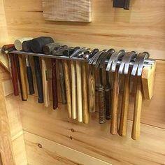 Garage Workshop Organization, Garage Tool Storage, Workshop Storage, Garage Tools, Shed Storage, Storage Hacks, Diy Storage, Diy Organization, Storage Ideas