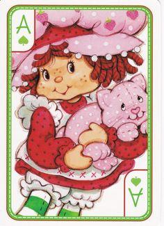 SSC Playing Cards - Best Deck - 35 Strawberry Shortcake Cartoon, Old Cartoons, Disney Cartoons, Cute Little Girls, Cute Kids, Huckleberry Pie, Cool Deck, Rainbow Brite, My Childhood