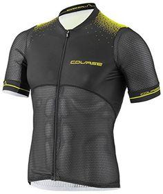 Louis Garneau 2017 Men s Course Superleggera 2 Short Sleeve Cycling Jersey  - 1020795 (Black bright yellow - L) 00d637f98