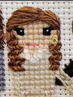 Cross Stitching, Cross Stitch Embroidery, Cross Stitch Designs, Cross Stitch Patterns, Cross Stitch Family, Needlepoint Designs, Thread Art, Cute Crafts, Lana