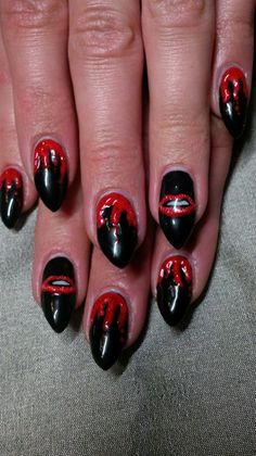 rocky horror - Nail Art Gallery